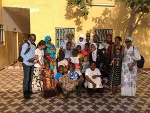 Journée mondiale de l'orphelinat : L'émouvant geste d'AMAM aux enfants de l'orphelinat de Mariam Diallo (En IMAGES)