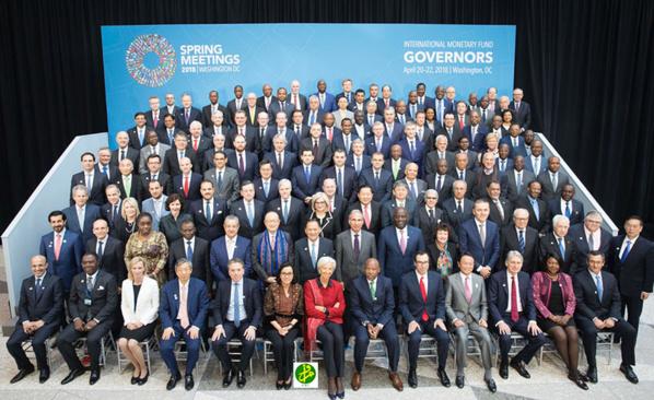 Washington : le Gouverneur de la BCM assiste aux réunions de printemps du FMI
