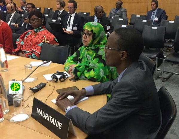 La Mauritanie participe à Paris à une conférence internationale sur la lutte contre le financement du terrorisme