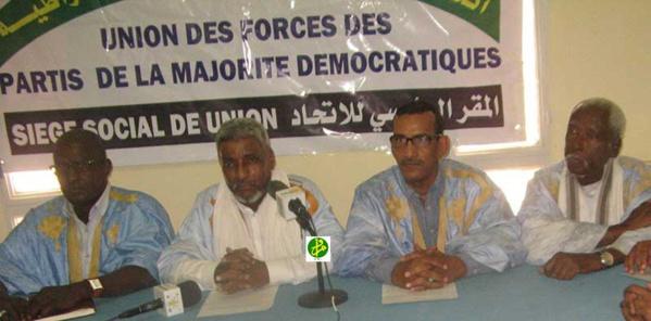 L'Union des Forces de la Majorité Démocratique : La composition de la CENI est une garantie réelle de la transparence des élections