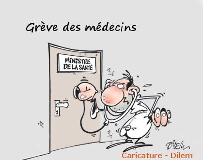 Les médecins grévistes n'auront jamais gain de cause…