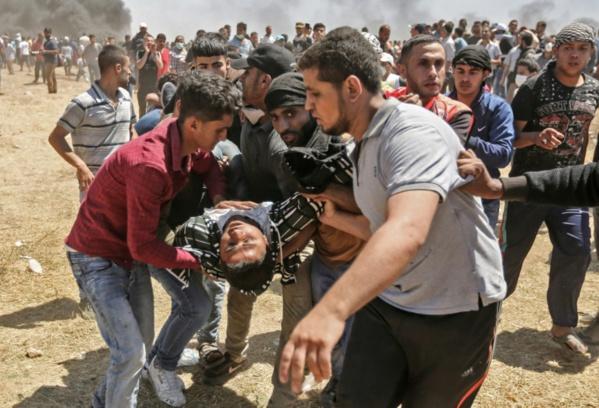 """Gaza: """"huit enfants de moins de 16 ans"""" parmi les morts"""