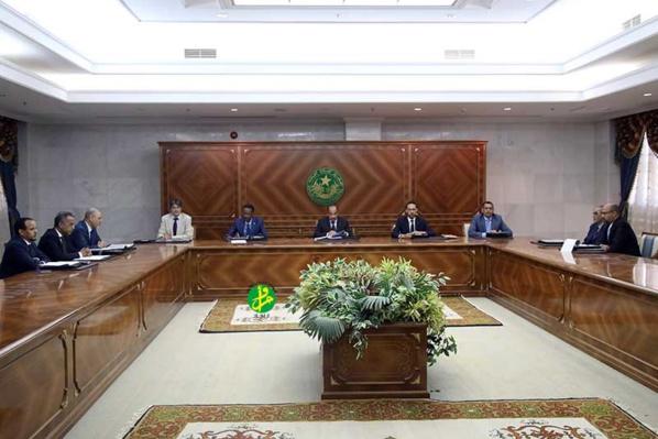Le Chef de l'État préside une réunion du Conseil Supérieur de la Magistrature