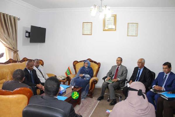 La ministre de l'agriculture se réunit avec une mission soudanaise de l'agriculture et des forêts
