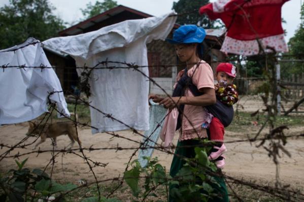 Birmanie: le périlleux voyage des déplacés d'une guerre oubliée