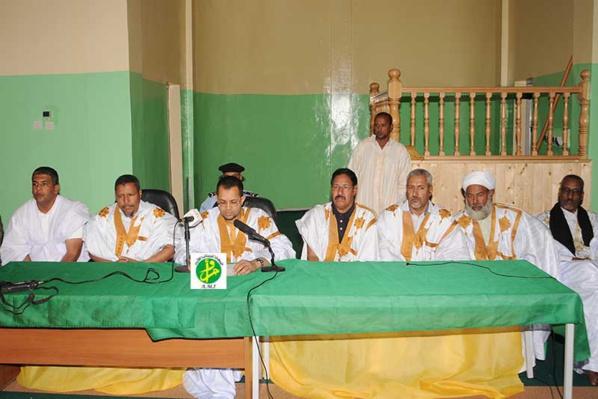 Inauguration d'une grande mosquée à Sabkha