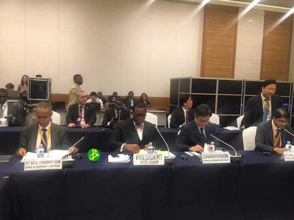 La Mauritanie au poste de premier adjoint au président du Conseil des gouverneurs de la BAD