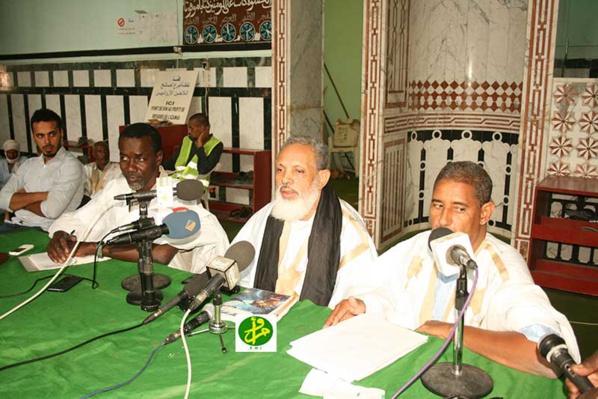 Conférence à la grande mosquée de Nouakchott sur l'intérêt que les Oulémas de Chinguetti accordent au rite malikite