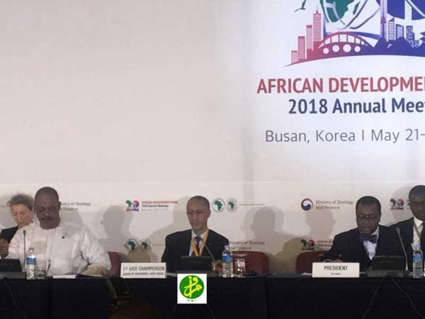 La Mauritanie préside la réunion finale du conseil des gouverneurs de la Banque Africaine de Développement (BAD) 2018