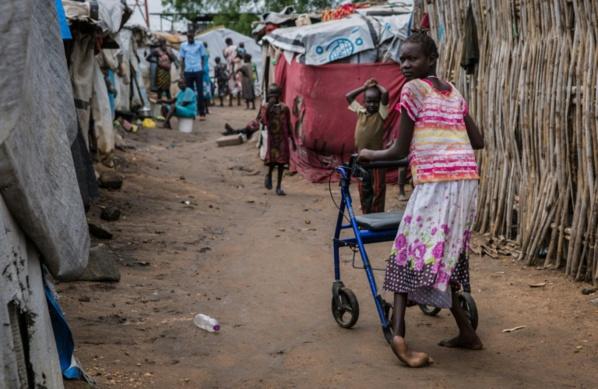 La double peine des handicapés dans le Soudan du Sud en guerre