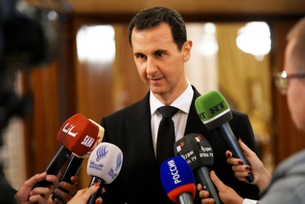 Assad menace d'utiliser la force contre des combattants aidés par Washington