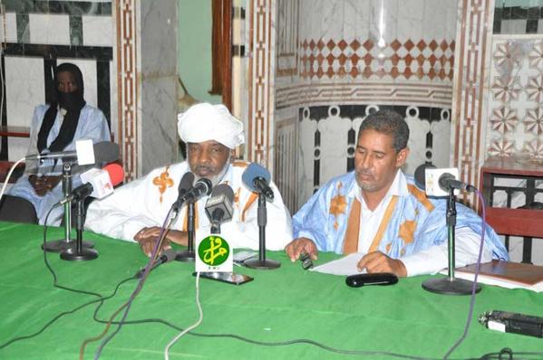 Conférence dans la mosquée principale de Nouakchott sur la sécurité et la paix dans l'Islam
