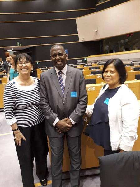 Le président d'IRA Mauritanie invité par la fondation anti-esclavagiste britannique Reuters à Bruxelles