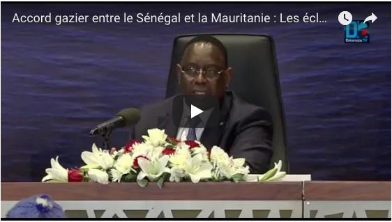 Accord gazier entre le Sénégal et la Mauritanie: Les éclairages de Macky Sall