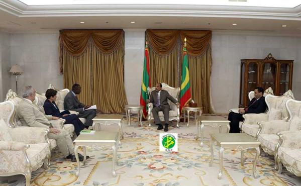 Le Président de la République reçoit une mission de la Banque Mondiale