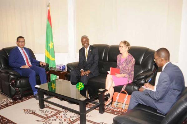 Le ministre du pétrole s'entretient avec le conseiller spécial du secrétaire général de l'ONU pour le Sahel