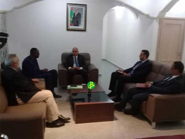 Une délégation de la Banque Mondiale s'informe sur les opportunités d'investissement offertes par la zone franche de Nouadhibou