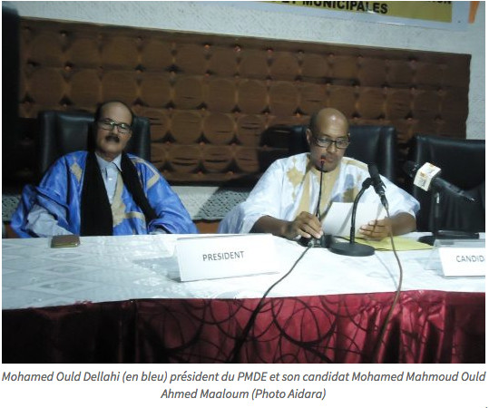 Le PMDE présente ses candidats aux prochaines élections