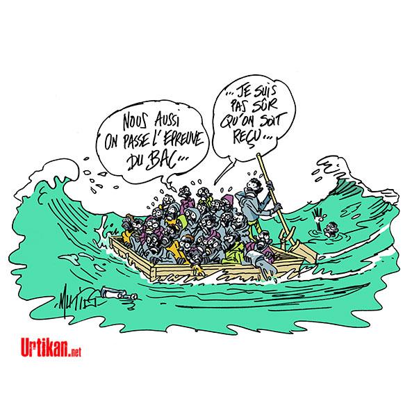 Dix migrants illégaux interceptés en Mauritanie