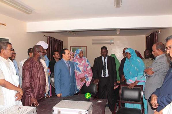 Le vice-président de la CENI visite un certain nombre de centres du RAVEL