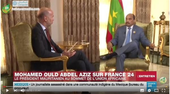Le président Aziz : « Je respecterai la constitution et je ne briguerai pas un troisième mandat»