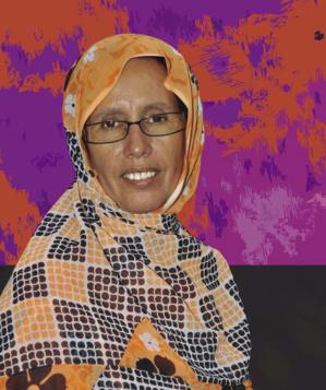 Rencontre entre Macron et société civile : L'activiste des droits de l'homme Aminetou Mint Moctar crie à la marginalisation