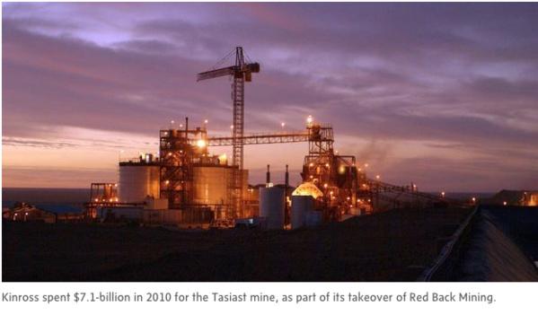 Une entreprise mauritanienne visée par l'enquête sur Kinross, selon des documents