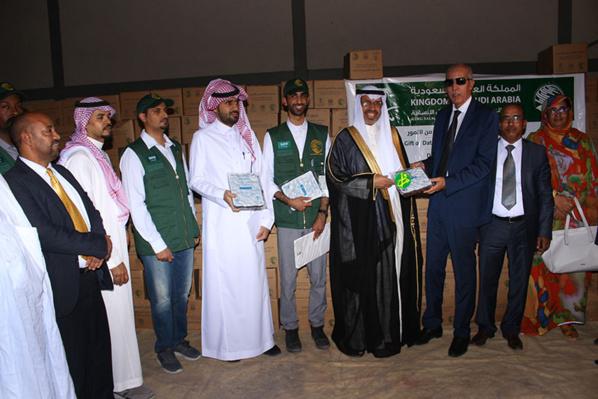 Le Royaume d'Arabie Saoudite remet un don de 100 tonnes de dattes au CSA