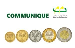 La BCM prolonge la période de circulation des pièces de monnaie de l'ancienne gamme (Communiqué)