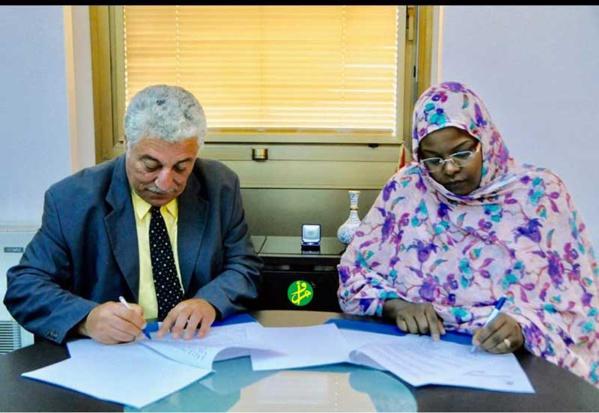 Signature d'un accord de coopération entre l'Agence Mauritanienne d'Information et l'Agence Tunis Afrique Presse