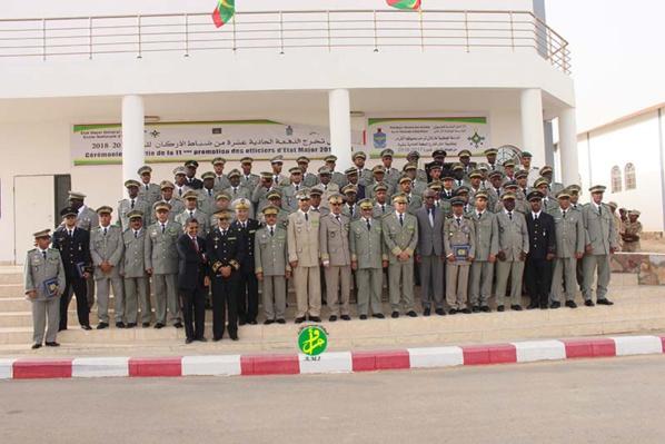 Sortie de la 11ème promotion des officiers d'Etat- major