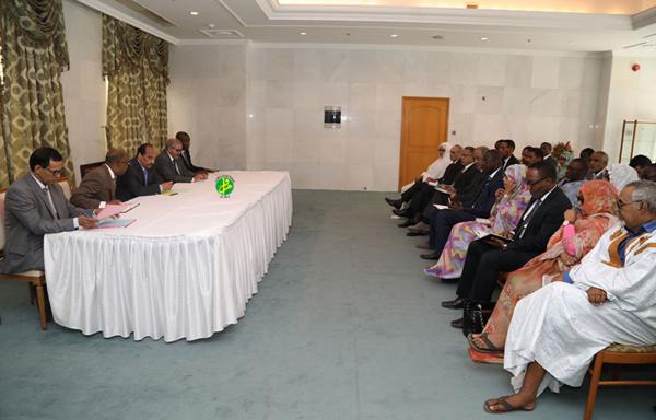 Le Président de la République rencontre les médecins spécialistes des hôpitaux nationaux