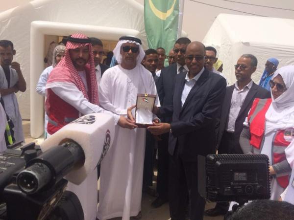 Mission humanitaire Emiratie au CNC: Pour le dépistage des maladies cardio-vasculaires et le diabète