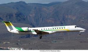 La Mauritanie renforce sa flotte aérienne de deux nouveaux Embraer
