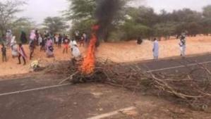 Nouakchott-Rosso : Des forces de la gendarmerie interviennent pour lever des barrières érigées par des mécontents