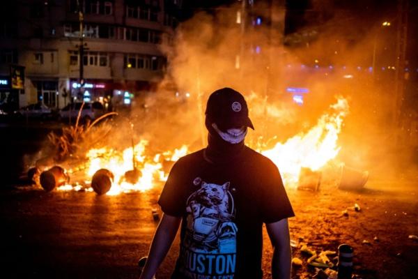 Roumanie: plus de 450 blessés lors d'une manifestation antigouvernementale