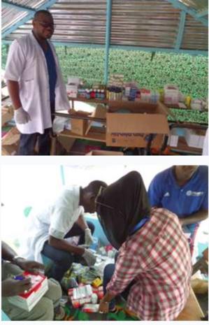 Commune de Rosso/APJR : Journées de consultations gratuites et d'offre de médicaments à Chgarra