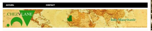 Me voilà plagié par l'Agence Mauritanienne d'Information