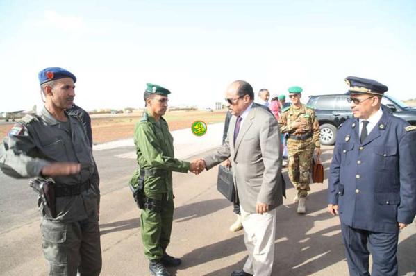 Fin de la visite du Président de la République en Assaba