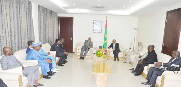 Le premier ministre reçoit les présidents des chambres de commerce des pays du G5-Sahel