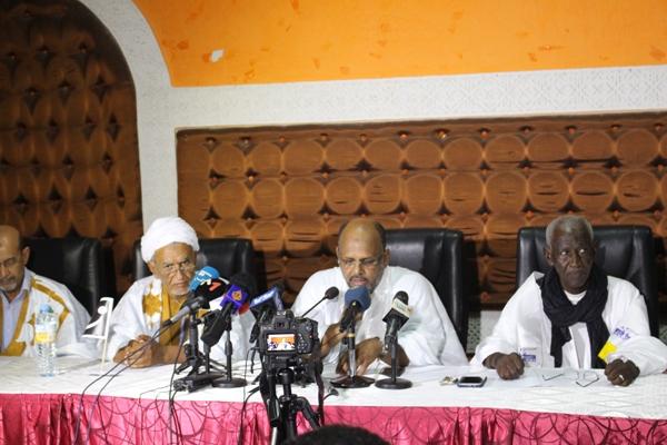 Accord électoral pour les régionales de Nouakchott entre 5 candidats de l'opposition