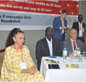 Atelier de validation du système d'exploitation du laboratoire mobile des pays du G5 Sahel