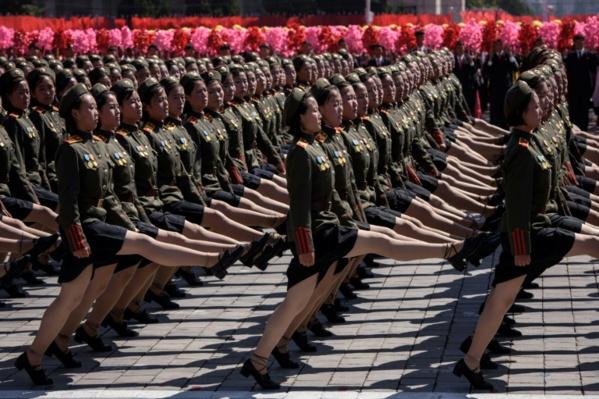 La Corée du Nord tient son défilé militaire sans ICBM