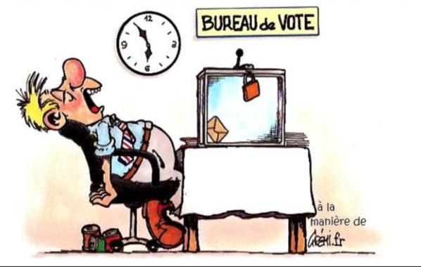 Faible affluence au second tour des élections législatives et locales