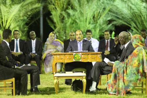 Le Président de la République tient une conférence de presse à Nouakchott