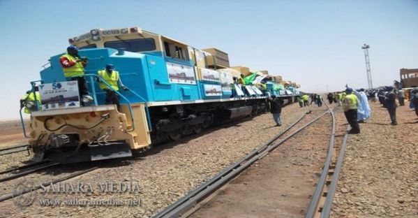 Le train de la SNIM reprend ses activités aprés quelques jours d'inactivités