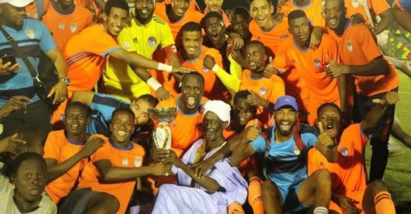 Le FC Nouadhibou Vainqueur de la coupe de la ligue