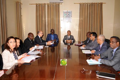 Le ministre délégué chargé du Budget reçoit une mission du FMI