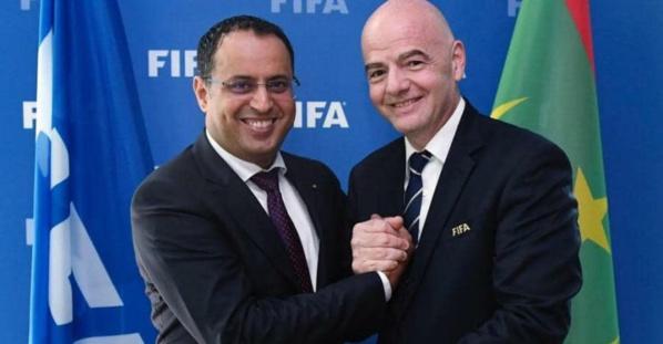 Réunion de travail à Zurich entre les présidents de la FFRIM et de la FIFA