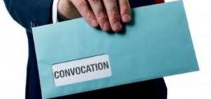 Décret présidentiel portant convocation de l'Assemblée Nationale pour élire le président et les membres de son bureau.